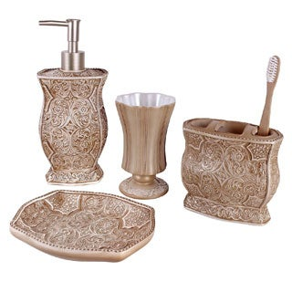 Victoria Bath Accessory 4-piece Set