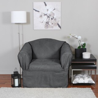 QuickCover Bruce One-piece Relaxed Fit Wrap Chair Slipcover
