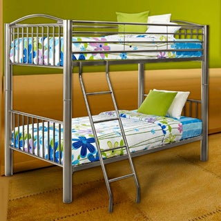 Powell Carlisle Twin Over Twin Bunk Bed