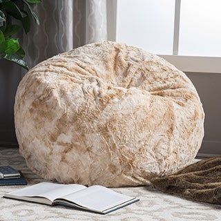 Christopher Knight Home Slacker 3-foot Shag Fur Beanbag
