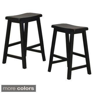 Whitaker Furniture Saddle Stools (Set of 2)