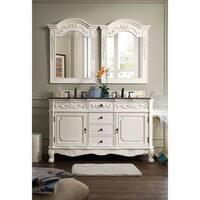 James Martin Furniture Classico White/ Granite Double Vanity Set