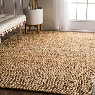 nuLOOM Handmade Natural Jute Rug (6' x 9')