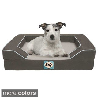 Sealy Lux Small Cooling Memory Foam Pet Bed