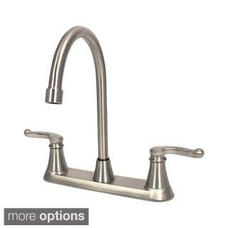 Sir Faucet Double Handle Centerset Kitchen Faucet