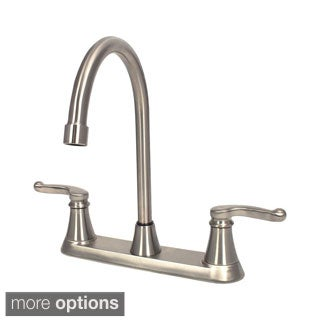 Sir Faucet Double Handle Centerset Kitchen Faucet