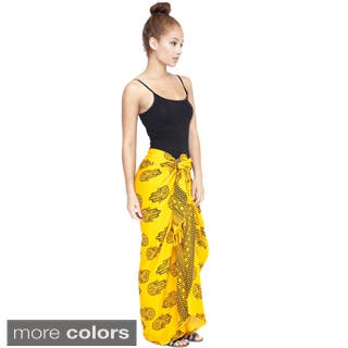 Handmade Om Ganesh Women's Rayon Sarong (Indonesia)|https://ak1.ostkcdn.com/images/products/P16584983L.jpg?impolicy=medium
