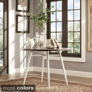 Belita Mid-century Two-tone Modern Wood Dining Table iNSPIRE Q Modern