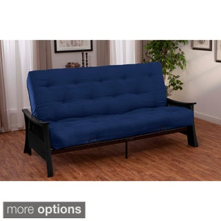 Beijing Microfiber Suede Inner Spring Full or Queen-size Futon Sofa Sleeper Bed