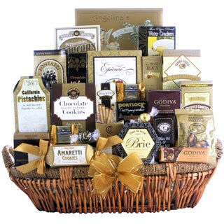 Great Arrivals New Year's Grand Gourmet Gift Basket