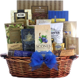 Great Arrivals Happy Hanukkah Gourmet Kosher Gift Basket