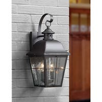Quoizel Millhouse Mystic Black Medium Wall Lantern