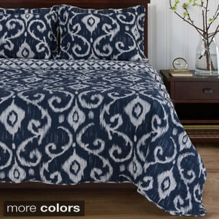 Superior Cambridge Reversible Cotton Quilt Set