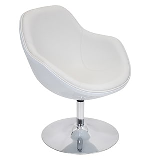 Christopher Knight Home Modern White Bonded Leather