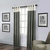 Grand Luxe Linen Monterey Grommet Curtain Panel