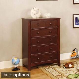 Furniture of America Paraiba Classic 5-Drawer Chest