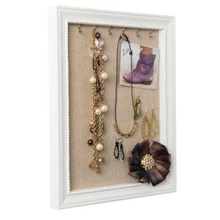 Hives & Honey Medium White Jewelry Frame