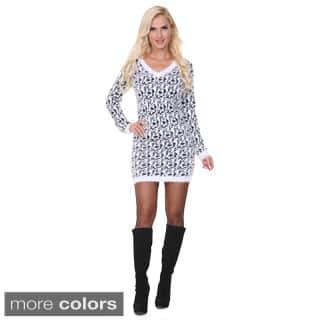 White Mark Women's Sweater Dress https://ak1.ostkcdn.com/images/products/P16622845.jpg?impolicy=medium