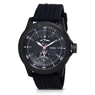Guess Men's W12656G1 Rev Black Chronograph Watch