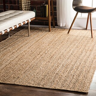 Havenside Home Duck Braided Reversible Jute Area Rug - 8' x 10'