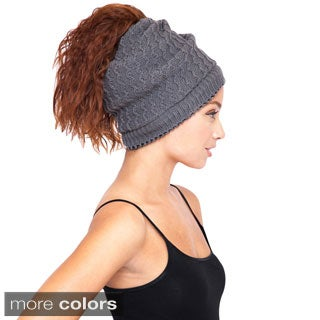 Slouchy Winter Snood Hat Neck Wrap (Nepal)