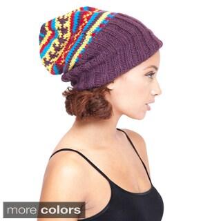 Slouchy Knit Beanie Cap (Nepal)