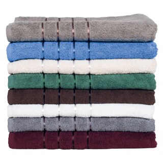 Windsor Home 100-percent Cotton 650 GSM 8-piece Towel Set