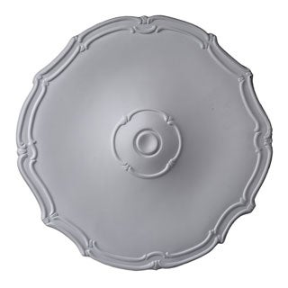 19-Inch Swirling Round Ceiling Medallion