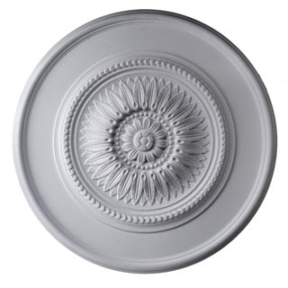 23-inch Round Classic Rays Ceiling Medallion
