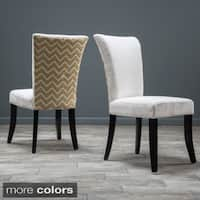 Stanford Fabric Dining Chair (Set of 2) by Christopher Knight Home
