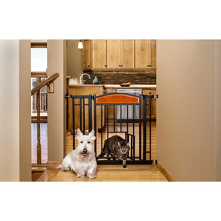 Carlson Extra Tall Walk Through Pet Gate Free Shipping