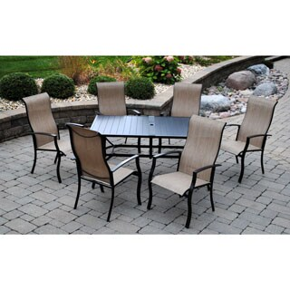 Sun Casual Maple Grove 7-piece Dining Set