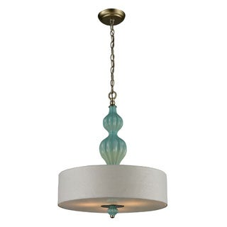 Elk Lighting Home Lilliana 3-light Aged Silver Pendant
