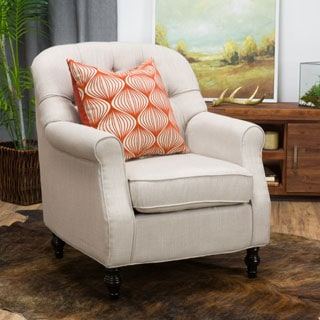 Hemsley Fabric Club Chair by Christopher Knight Home