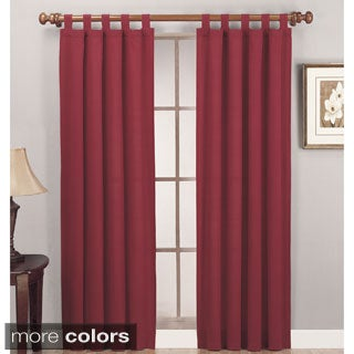 Lightweight Canvas Curtain Panel Pair