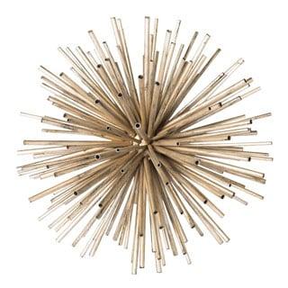 Aurelle Home Metal Decorative Table Bauble (Set of 2)