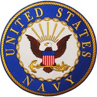 United States Navy Large Patch