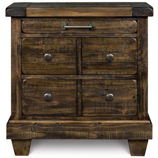 Magnussen B2524 Brenley Wood 3 Drawer Nightstand