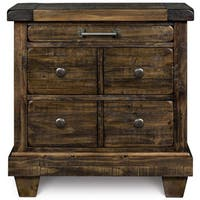 Oliver & James Prou 3-drawer Wood Nightstand