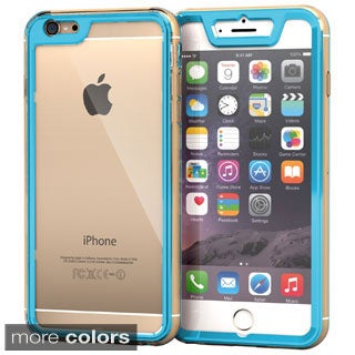rooCASE Gelledge Slim Hybrid TPU/ PC Hard Shell Case for iPhone 6 Plus 5.5-inch (2014) / 6s Plus (2015)