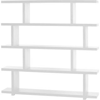 Aurelle Home Kamma Large Geometric Modern Bookshelf