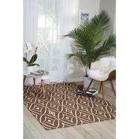 Waverly Color Motion Centro Walnut Area Rug by Nourison (5' x 7')