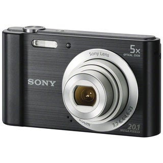 Sony Cyber-shot DSC-W800 20MP Black Digital Camera
