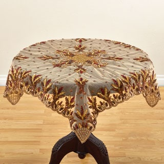 Hand-beaded Design Table Accent