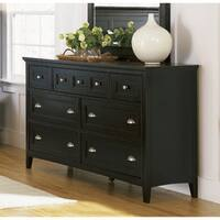Havenside Home South Padre Wood 7-drawer Double Dresser