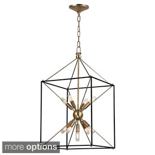 Hudson Valley Glendale 9-light 17 inch Pendant