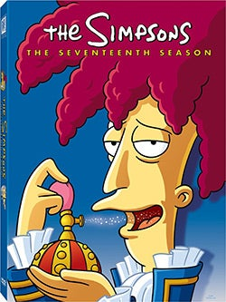 The Simpsons: The Complete Seventeenth Season (DVD)