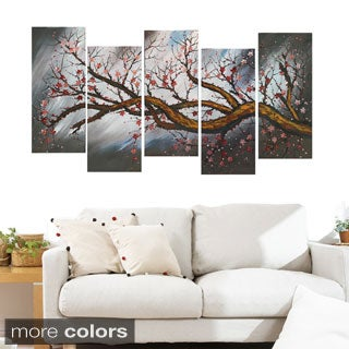 Large 'Blossoming Beauty' Gallery-Wrapped Canvas Print