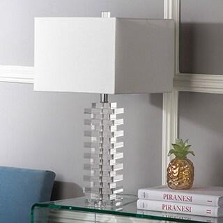 Safavieh Lighting 26.5-inch Swift Clear Table Lamp