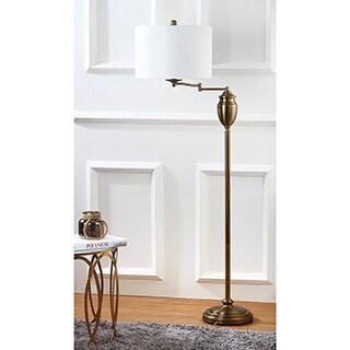 safavieh lighting 60inch antonia gold floor lamp - Gold Floor Lamp